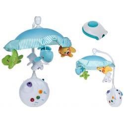 Muzikinė karuselė su projektoriumi 2in1 Smart baby