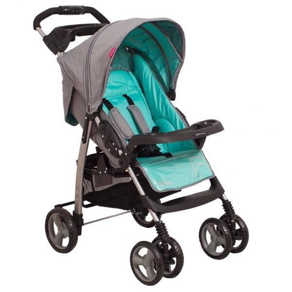 Coto Baby Blues Q Mint vežimėlis