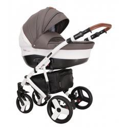 Universalus vežimėlis COLETTO FLORINO CARBON 3in1 ruda