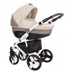 Universalus vežimėlis COLETTO FLORINO CARBON 3in1 smėlinė