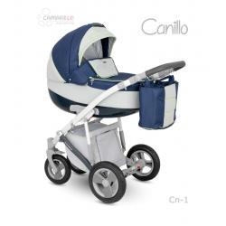 Universalūs vežimėliai Camarelo Canillo 3in1 mėlyna