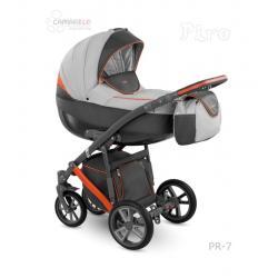 Universalūs vežimėliai Camarelo Piro 3in1 oranžinė