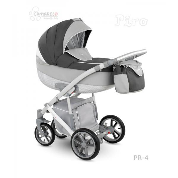 Universalūs vežimėliai Camarelo Piro 3in1 pilka