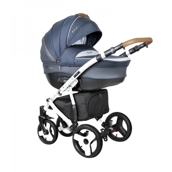 Universalus vežimėlis COLETTO FLORINO CARBON 3in1 mėlyna