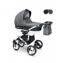 Universalus vežimėlis CAMARELO CARERA 3in1 tamsiai pilka