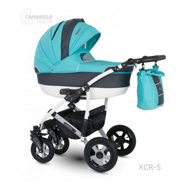 Universalus vežimėlis CAMARELO CARMELA 3in1 mėta