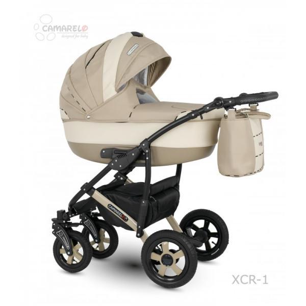 Universalus vežimėlis CAMARELO CARMELA 3in1 smėlinė