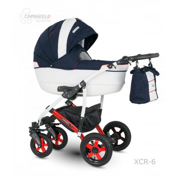Universalus vežimėlis CAMARELO CARMELA 3in1 tamsiai mėlyna
