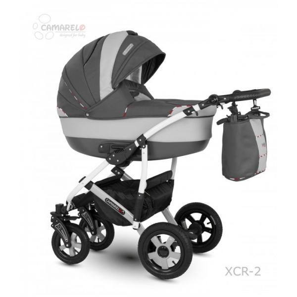 Universalus vežimėlis CAMARELO CARMELA 3in1 tamsiai pilka