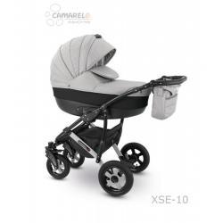 Universalus vežimėlis CAMARELO SEVILLA 3in1 džinsinė pilka