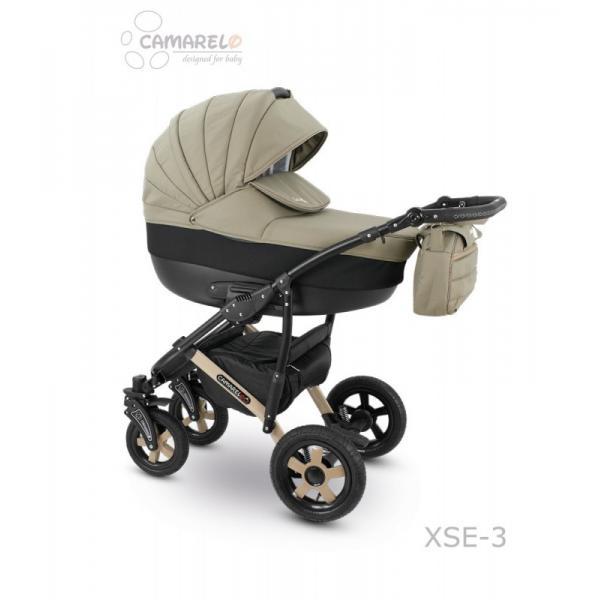 Universalus vežimėlis CAMARELO SEVILLA 3in1 džinsinė mėlyna