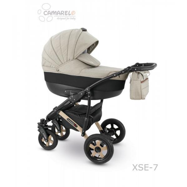Universalus vežimėlis CAMARELO SEVILLA 3in1 smėlinė