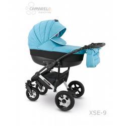 Universalus vežimėlis CAMARELO SEVILLA 3in1 šviesiai mėlyna