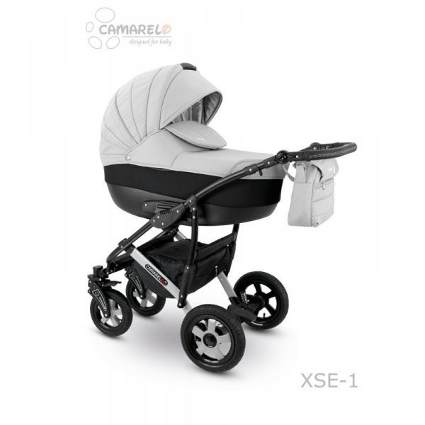 Universalus vežimėlis CAMARELO SEVILLA 3in1 šviesiai pilka