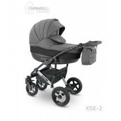 Universalus vežimėlis CAMARELO SEVILLA 3in1 tamsiai pilka