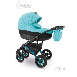 Universalus vežimėlis CAMARELO SEVILLA 3in1 žydra