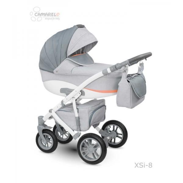 Universalus vežimėlis CAMARELO SIRION 3in1 šviesiai pilka