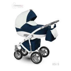 Universalus vežimėlis CAMARELO SIRION 3in1 tamsiai mėlyna