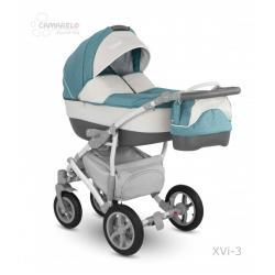 Universalus vežimėlis CAMARELO VISION 3in1 mėta