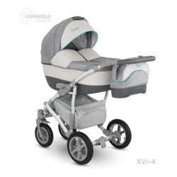 Universalus vežimėlis CAMARELO VISION 3in1 šviesiai pilka