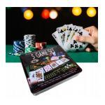 Penki viename, pokerio rinkinys (100 žetonų)