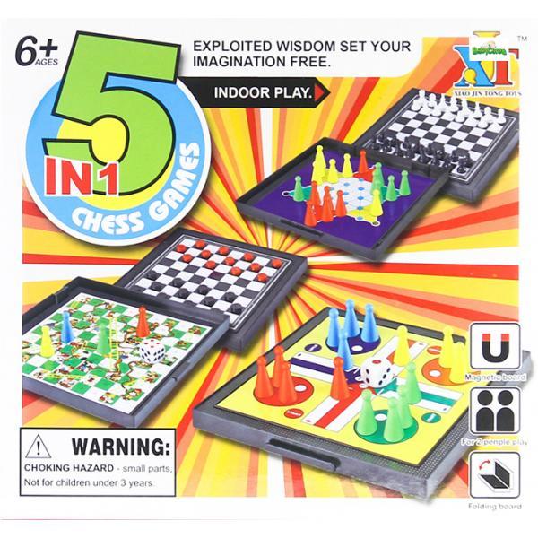 """Stalo žaidimas """"5in1"""""""