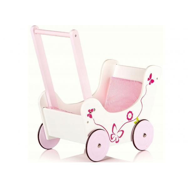 """Medinis lėlių vežimėlis """"butterfly"""""""