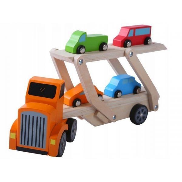 Medinis autovežis su mašinėlėmis