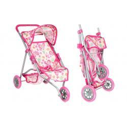 """Lėlių vežimėlis-skėtukas """" Drugelis"""""""