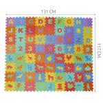 Minkštas EVA Edukacinis Kilimėlis - Dėlionė (puzzle) 72 dalys  16cmX16cm