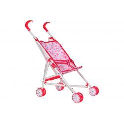 Lėlių vežimėlis-skėtukas HOT PINK 52cm.