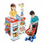 Parduotuvė supermarketas su vežimėliu HOME SUPERMARKET