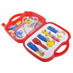 Žaislinis gydytojo rinkinys lagaminėlyje