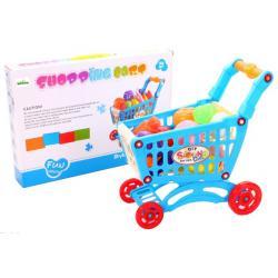 """Žaislinis pirkinių vežimėlis su pirkiniais """"Shopping"""""""