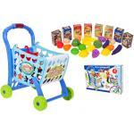 """Žaislinis pirkinių vežimėlis su pirkiniais """"Supermarket"""" 3in1"""