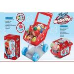 """Žaislinis pirkinių vežimėlis su pirkiniais """"SuperMarket"""""""