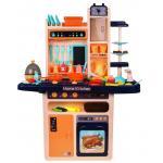 Interaktyvi virtuvėlė su orkaite ir šaldytuvu +65 vnt. priedų