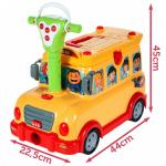Interaktyvus stumdukas - Linksmasis autobusiukas 3in1