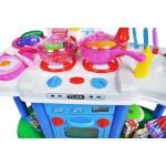 Vaikiška virtuvėlė su šviesa ir vandeniu XL